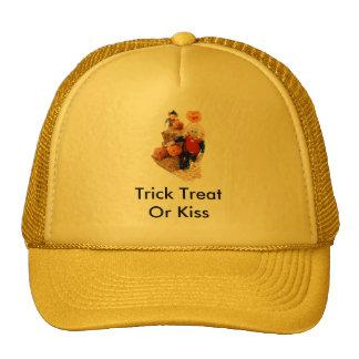 Halloween Trick Or Treats Trucker Hat