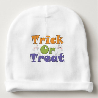 Halloween Trick or Trick Ghosts Baby Beanie