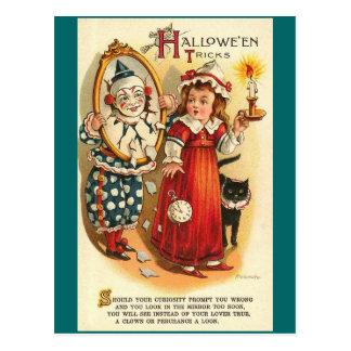 Halloween Tricks Postcard