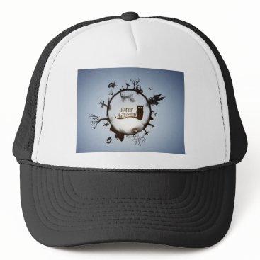Halloween Themed halloween trucker hat