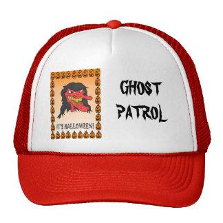 Halloween, truco o invitación gorros bordados