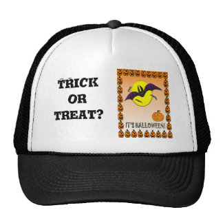 Halloween, truco o invitación gorras