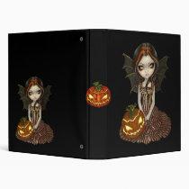 art, fantasy, halloween, hallowe'en, fall, autumn, sunset, witch, witches, night, dark, pumpkin, pumpkins, jack-o-lantern, jack o'lantern, jack, lantern, eye, eyes, big eye, big eyed, jasmine, becket-griffith, becket, griffith, jasmine becket-griffith, jasmin, strangeling, artist, goth, gothic, fairy, gothic fairy, faery, fairies, faerie, fairie, Fichário com design gráfico personalizado