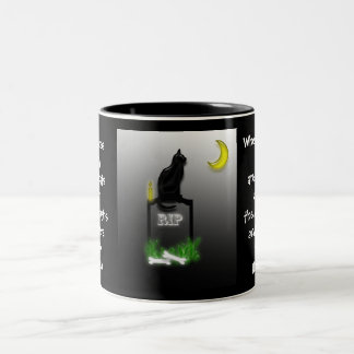 Halloween! Two-Tone Coffee Mug
