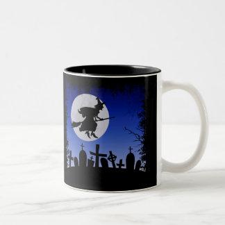 Halloween Two-Tone Coffee Mug
