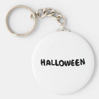 Halloween Typo design Keychain