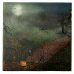 Halloween - uno santifica Eve Azulejo