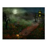 Halloween - uno santifica Eve Postal