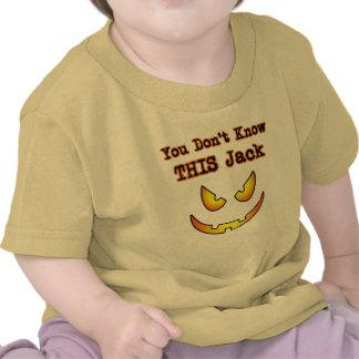 Halloween usted no conoce este Jack Camiseta