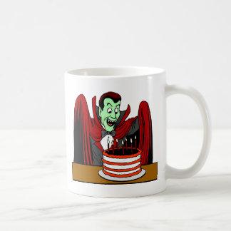 Halloween Vampire Birthday Gift Classic White Coffee Mug