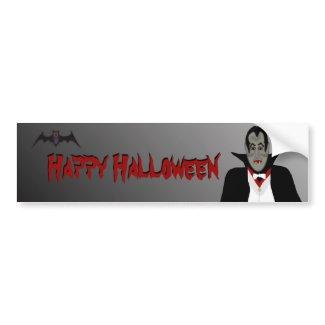 Halloween Vampire Bumper Sticker bumpersticker