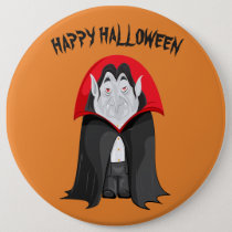 Halloween Vampire Button