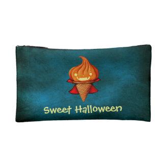 Halloween Vampire Pumpkin Ice Cream Cosmetics Bags