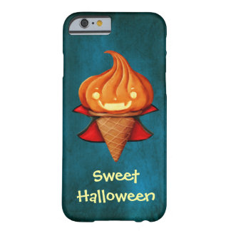 Halloween Vampire Pumpkin Ice Cream Barely There iPhone 6 Case