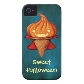 Halloween Vampire Pumpkin Ice Cream iPhone 4 Cover