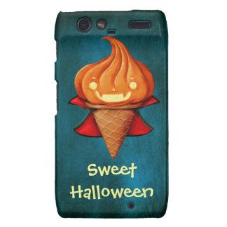 Halloween Vampire Pumpkin Ice Cream Motorola Droid RAZR Case