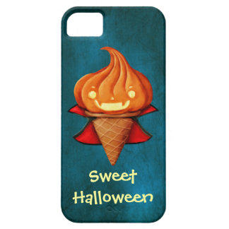 Halloween Vampire Pumpkin Ice Cream iPhone 5 Covers