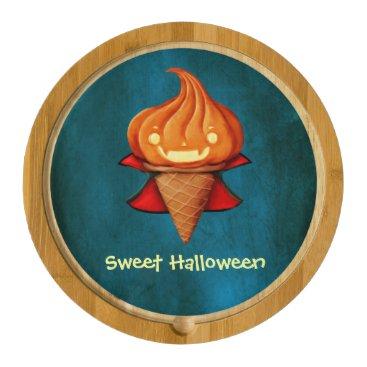 Halloween Themed Halloween Vampire Pumpkin Ice Cream Cheese Board