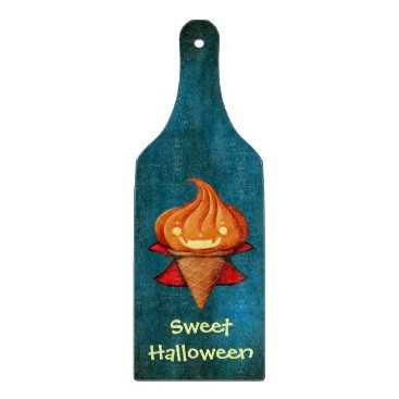 Halloween Themed Halloween Vampire Pumpkin Ice Cream Cutting Board