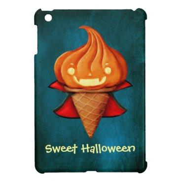 Halloween Themed Halloween Vampire Pumpkin Ice Cream iPad Mini Cover