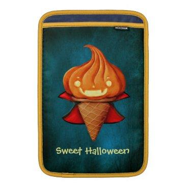 Halloween Themed Halloween Vampire Pumpkin Ice Cream MacBook Air Sleeve