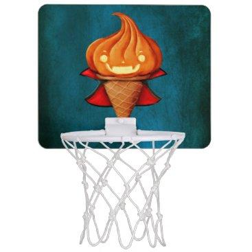 Halloween Themed Halloween Vampire Pumpkin Ice Cream Mini Basketball Backboard