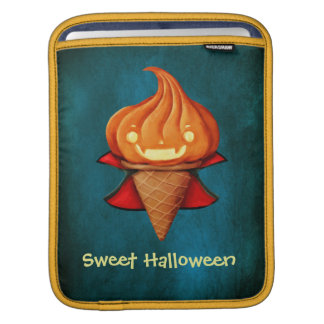 Halloween Vampire Pumpkin Ice Cream Sleeves For iPads