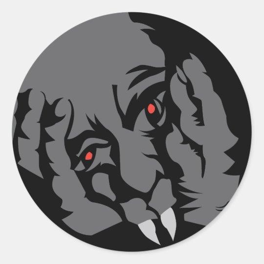 Halloween Vampire Stickers