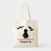 Halloween Vampire Trick or Treat Bag