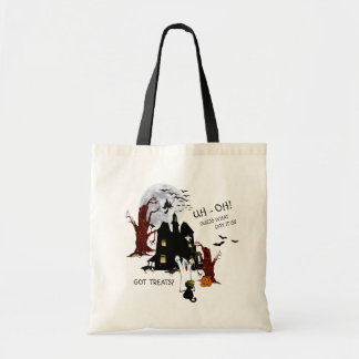 Halloween Version - Uh Oh! Guess What Day It Is Tote Bag