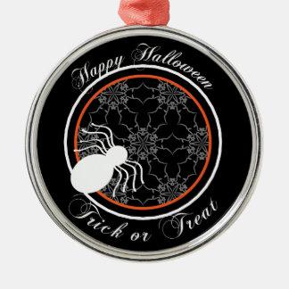 Halloween Victorian Lace Black Ornament