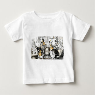 Halloween Vintage Flappers Baby T-Shirt