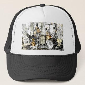 Halloween Vintage Flappers Trucker Hat