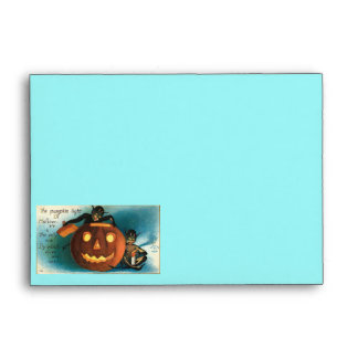 Halloween Vintage Images Envelope