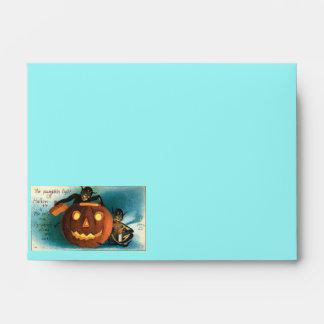 Halloween Vintage Images Envelopes