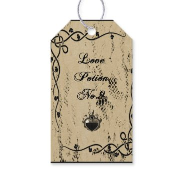 Halloween Themed Halloween Vintage Paper Gift Tag