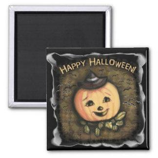 Halloween Vintage Pumpkin Fridge Magnet