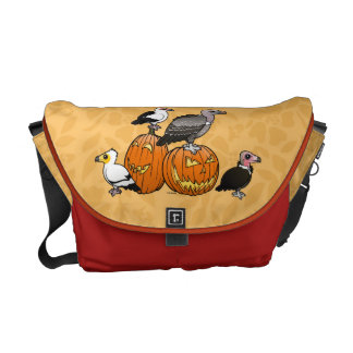 Halloween Vultures Messenger Bag