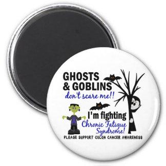 Halloween Warrior CFS Chronic Fatigue Syndrome Refrigerator Magnet