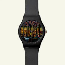 Halloween watch,Headless Horseman Wrist Watch