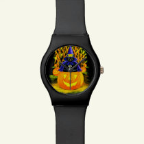Halloween watch,Hurry up and wait Wristwatch