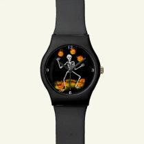 Halloween watch,Mr.Bone-Jangles Wristwatch