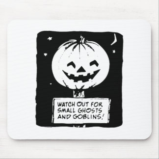 Halloween Watch Out for Ghost Mouse Pads