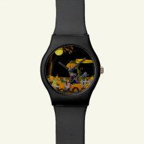 Halloween watch,Pumpkin Power Watch