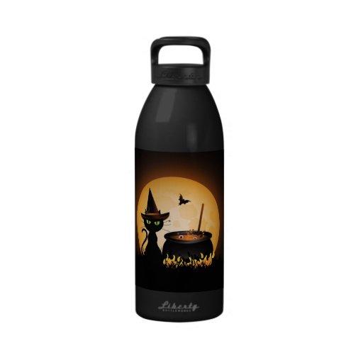 Halloween Reusable Water Bottles