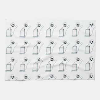 HALLOWEEN WAVING GHOST towel