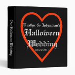 Halloween Wedding Binder