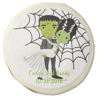Halloween Wedding Decorated Cookies