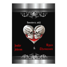 Halloween Wedding Invitation at Zazzle