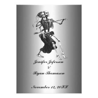 halloween wedding Invitation Custom Invite
